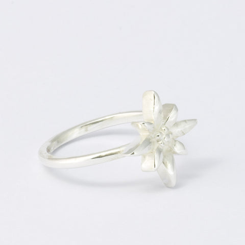 Edelweiss Silberring