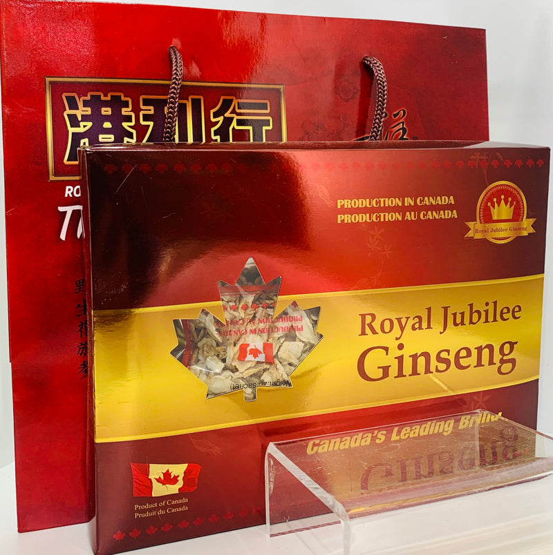 加拿大邮寄-5年加拿大安省花旗参-小片:90克盒装 / 5 Year Canadian Ginseng - Small Slices : 90g Gift Box  (Order to Canada)