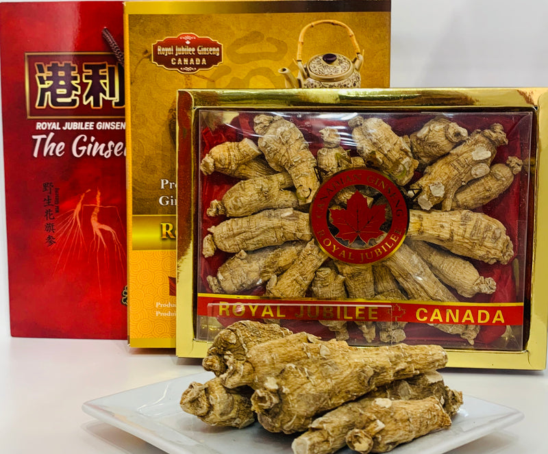 加拿大邮寄-4年加拿大安省花旗参-大枝:B级 1.00磅 / 4 Year Canadian Ginseng - Large Roots : B Grade 1.00lb (Order to Canada)