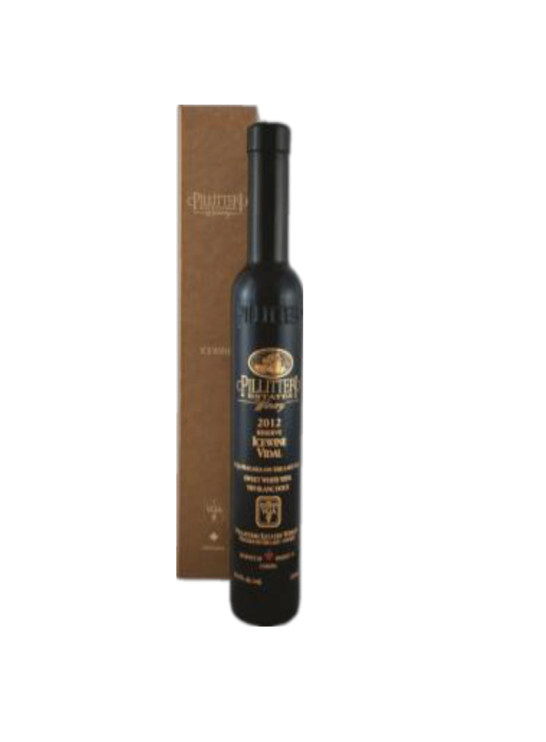 中国邮寄:酒:(15)派利特端霞多利白冰酒375毫升/ Pillitteri Chardonnay Icewine 375ml (Order to China)