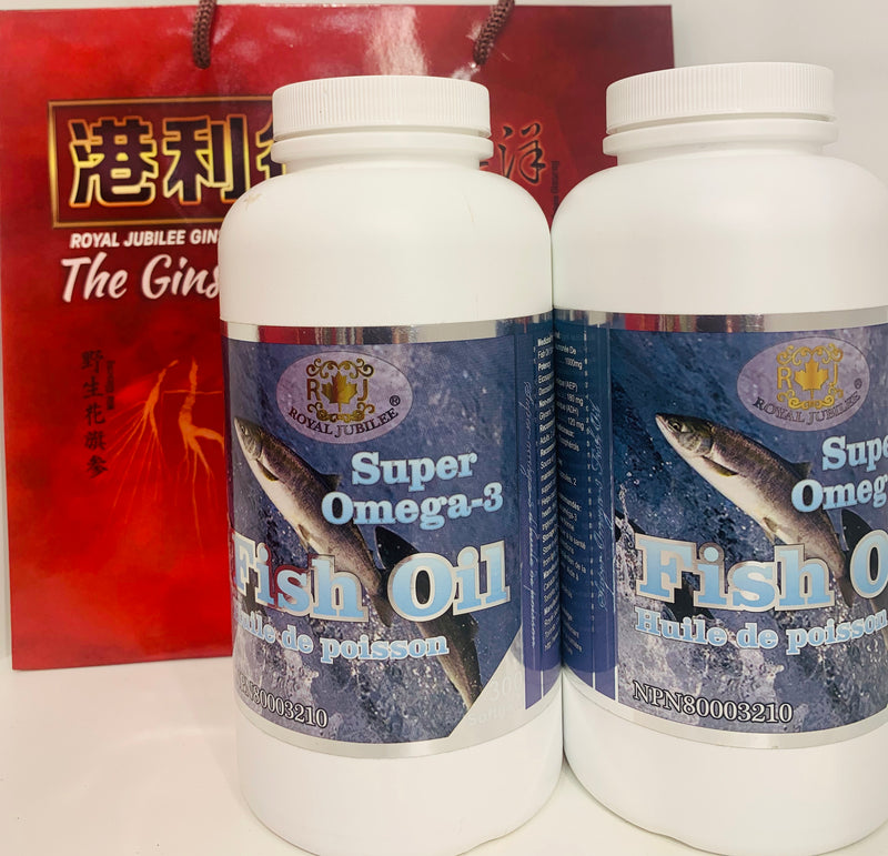 加拿大邮寄:鱼油 1000mg 300粒 l Fish Oil 1000mg 300 capsules (Order to Canada)