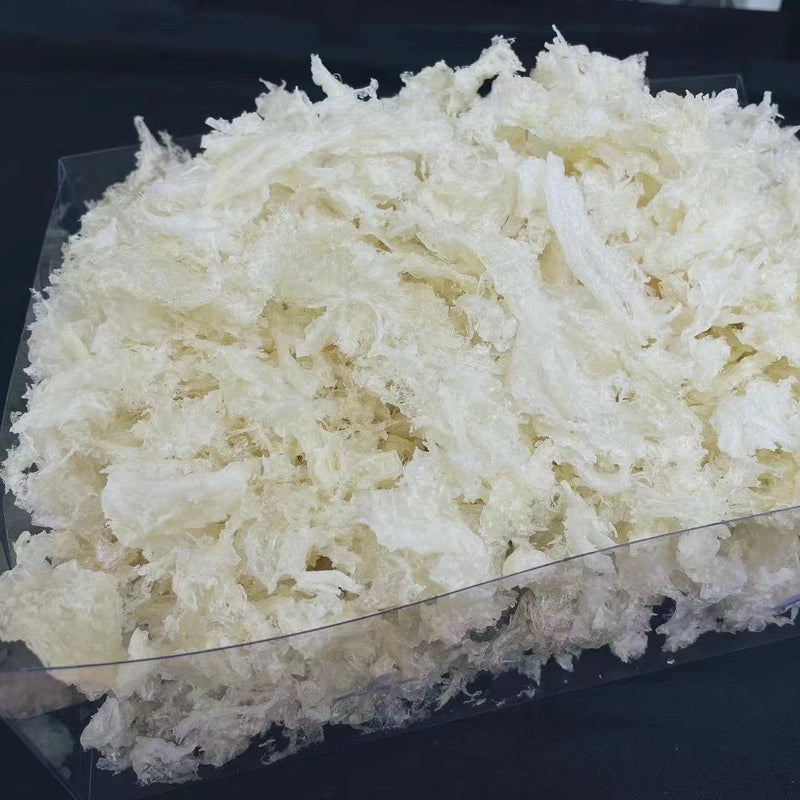 印尼白燕窝-肉角小条/ Dried Indonesian White Birds Nest - Broken
