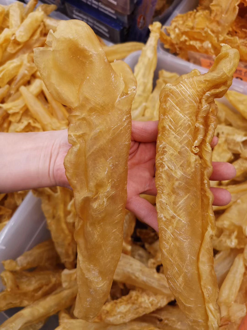 加拿大邮寄-黄花鱼花胶 8-9头 / Order within Canada - Dried Fish Maw 8-9 pcs
