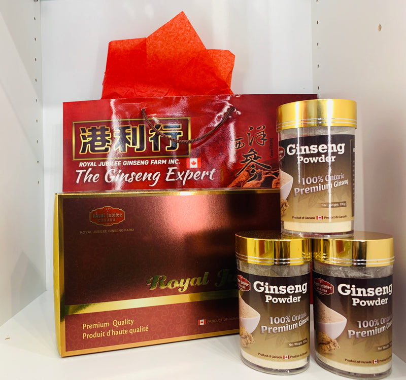 加拿大邮寄-5年加拿大安省花旗参粉 / 5 Year Canadian Ginseng Powder (Order to Canada)