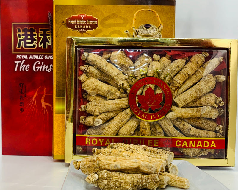 加拿大邮寄-4年加拿大安省花旗参-中枝:B级 1.00磅 / 4 Year Canadian Ginseng - Medium Roots : B Grade 1.00lb (Order to Canada)