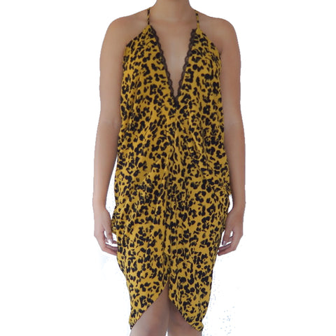 DAISY - LEOPARD YELLOW