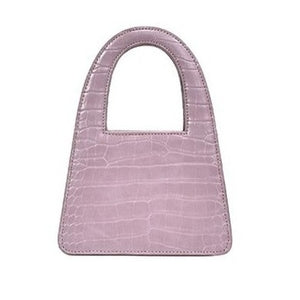 ALLIGATOR DESIGNER BAG (SMALL & LARGE) - 4 COLORS