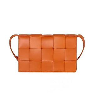 SQUARE WOVEN CROSSBODY BAG - 4 COLORS
