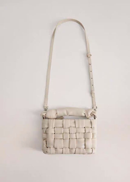 SPANISH DESIGNER WOVEN SHOULDER BAG - 3 COLORS