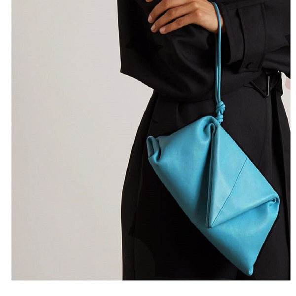 ENVELOPE TRIANGLE BAG - 3 COLORS