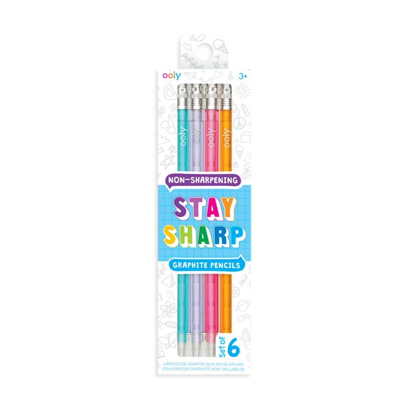 Stay Sharp Pencil Set