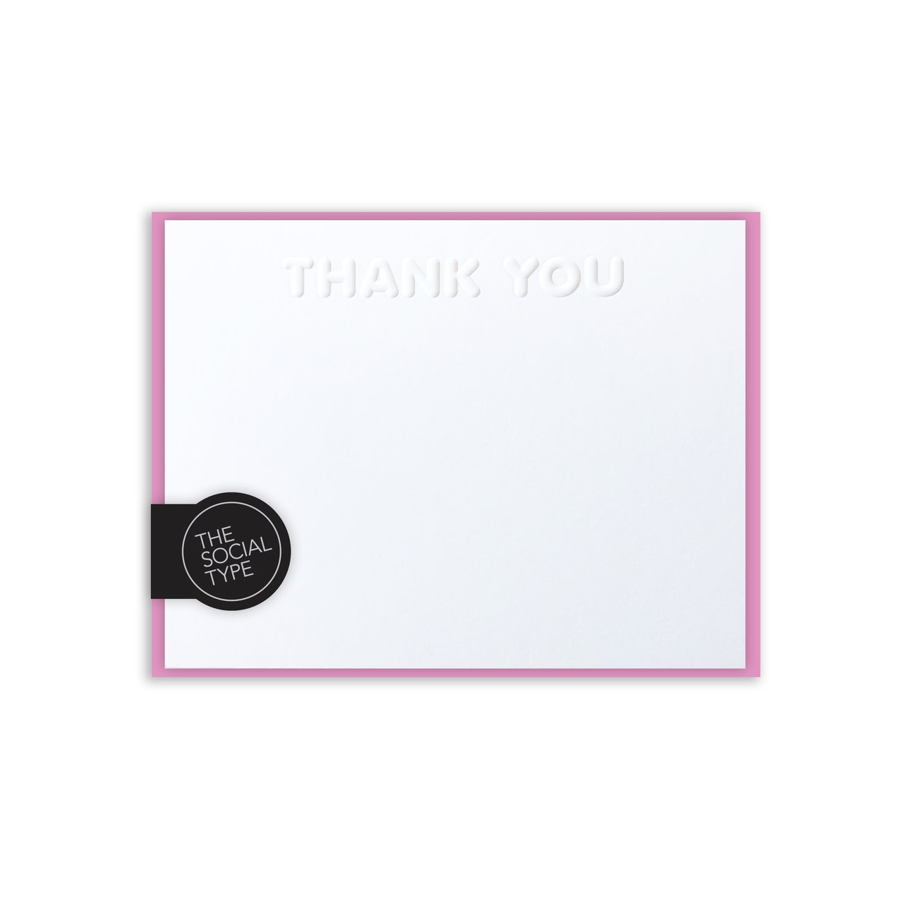 Pink Thank You Note Set