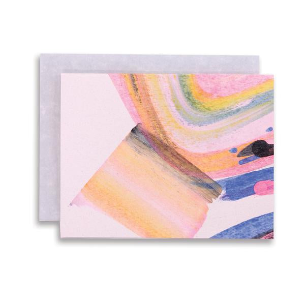 Rainbow Swirl Note Set