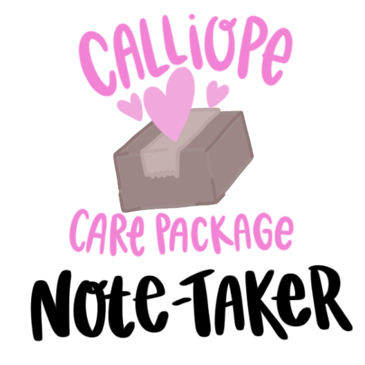 Note-Taker Care Package