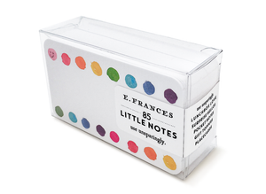 Rainbow Dots Tiny Notes