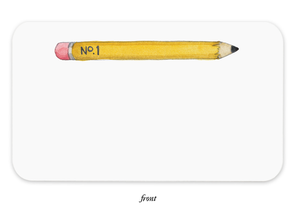 Pencil Tiny Notes