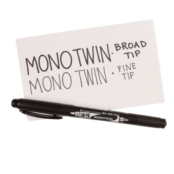 Tombow Twin-tip Permanent Marker
