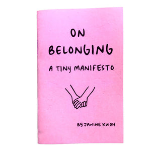 On Belonging Zine