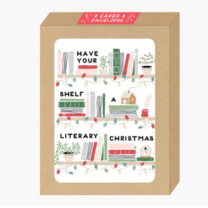 Literary Christmas Boxed