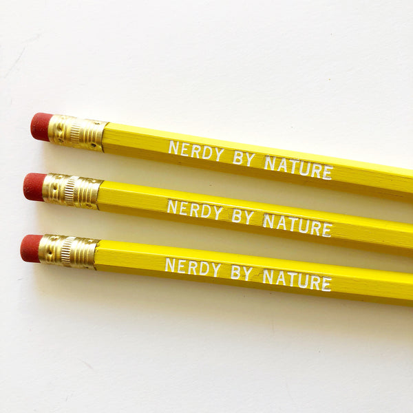 Nerdy By Nature Pencil