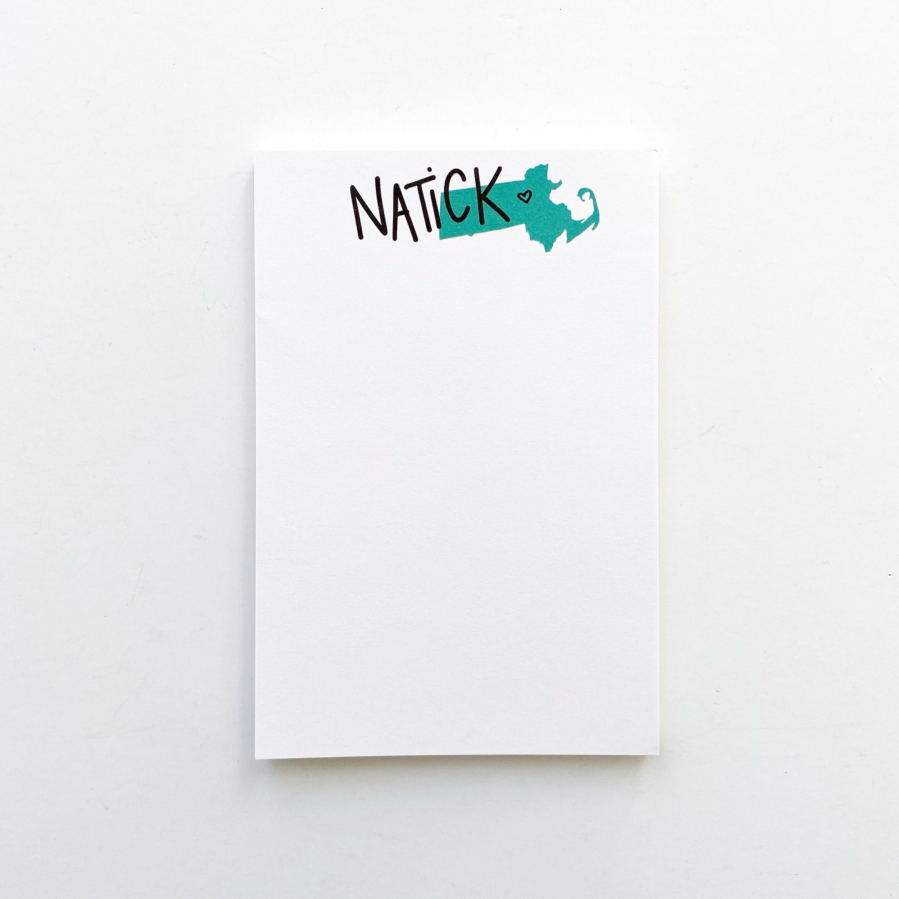 Natick Love Notepad