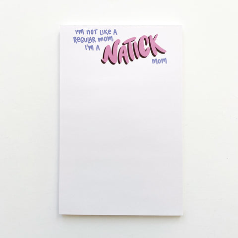 Natick Mom Notepad