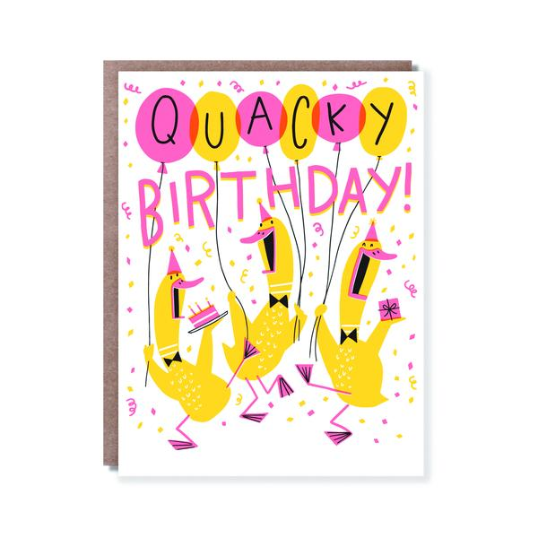 Quacky Birthday