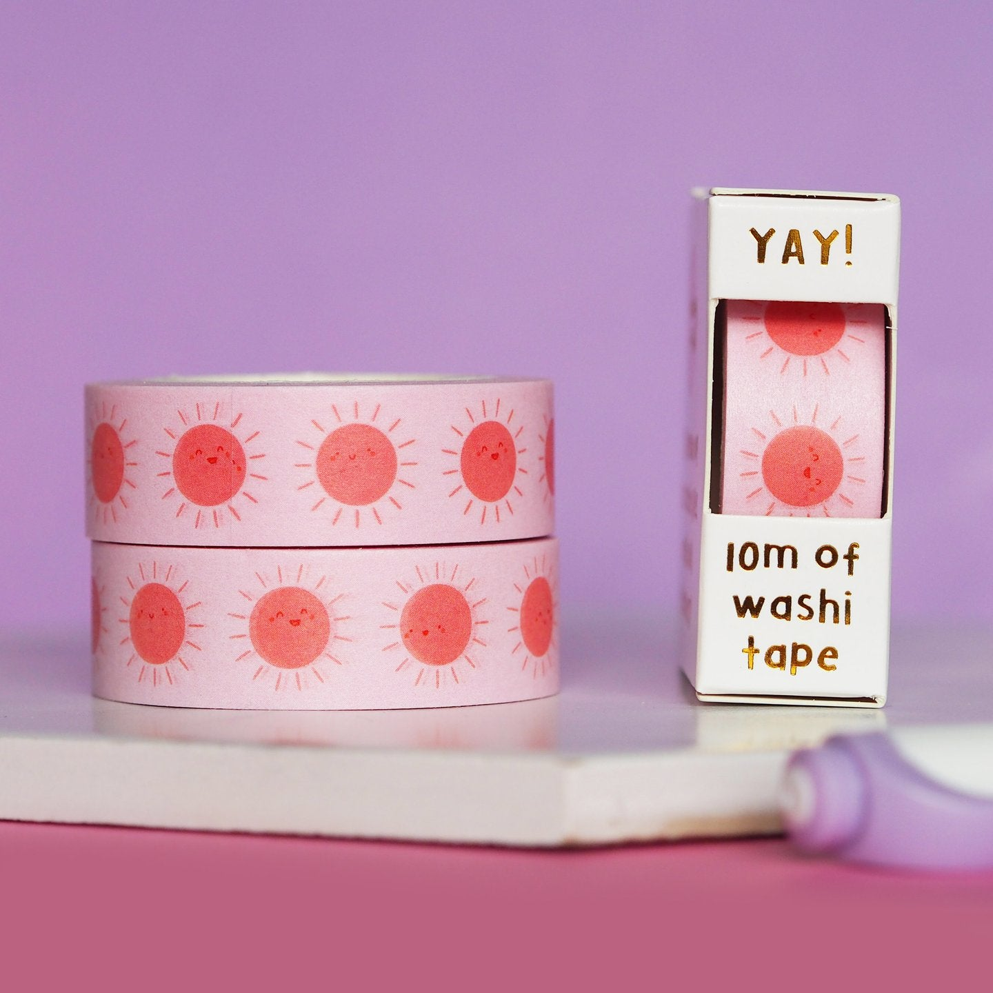 Sunny Sunshine Washi Tape