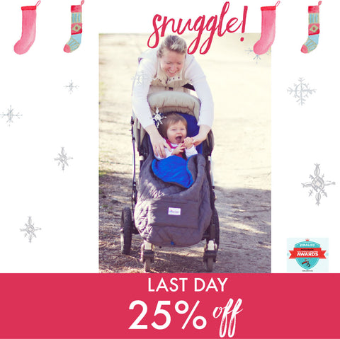 Last Day to Save on This Stroller Blanket all of Nomie Baby!