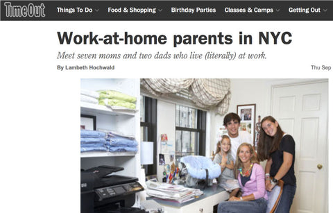 TimeOut NY Work At Home Parents NYC