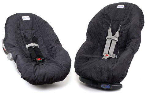 Gift Set: Charcoal Gray Infant/Toddler Car Seat Covers