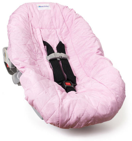 Pink Car Seat Cover For Infants And Babies