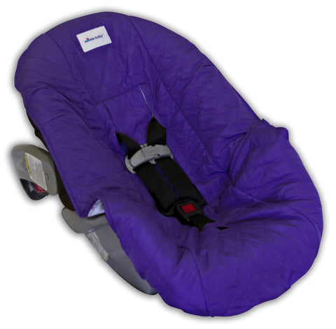 Purple Car Seat Cover for Infants and Babies