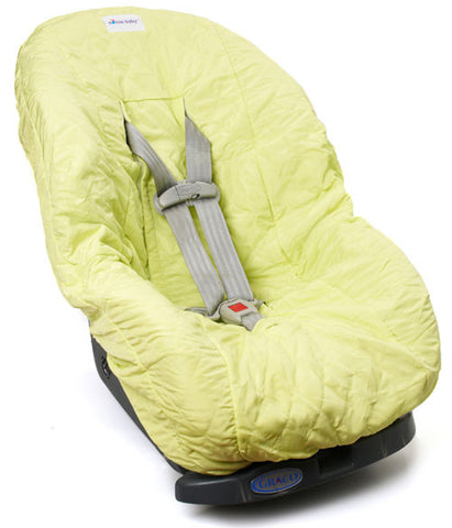 Lime Yellow Toddler Car Seat Cover for Kids