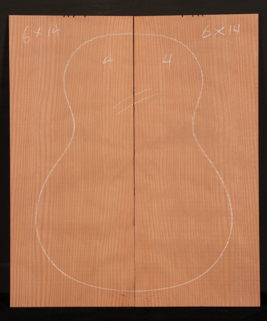 Ukulele Curly Sinker Redwood Top 04