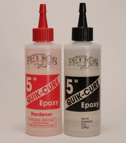 "Epoxy, 5 minute ""Quick Cure"" 9 ounce"