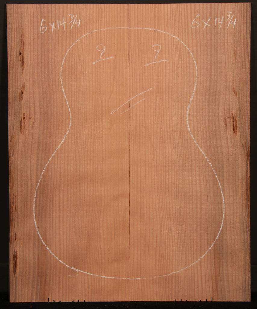 Ukulele Curly Sinker Redwood Top 09