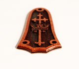 Tay 3 hole Cross and Crown, Koa, Laminated