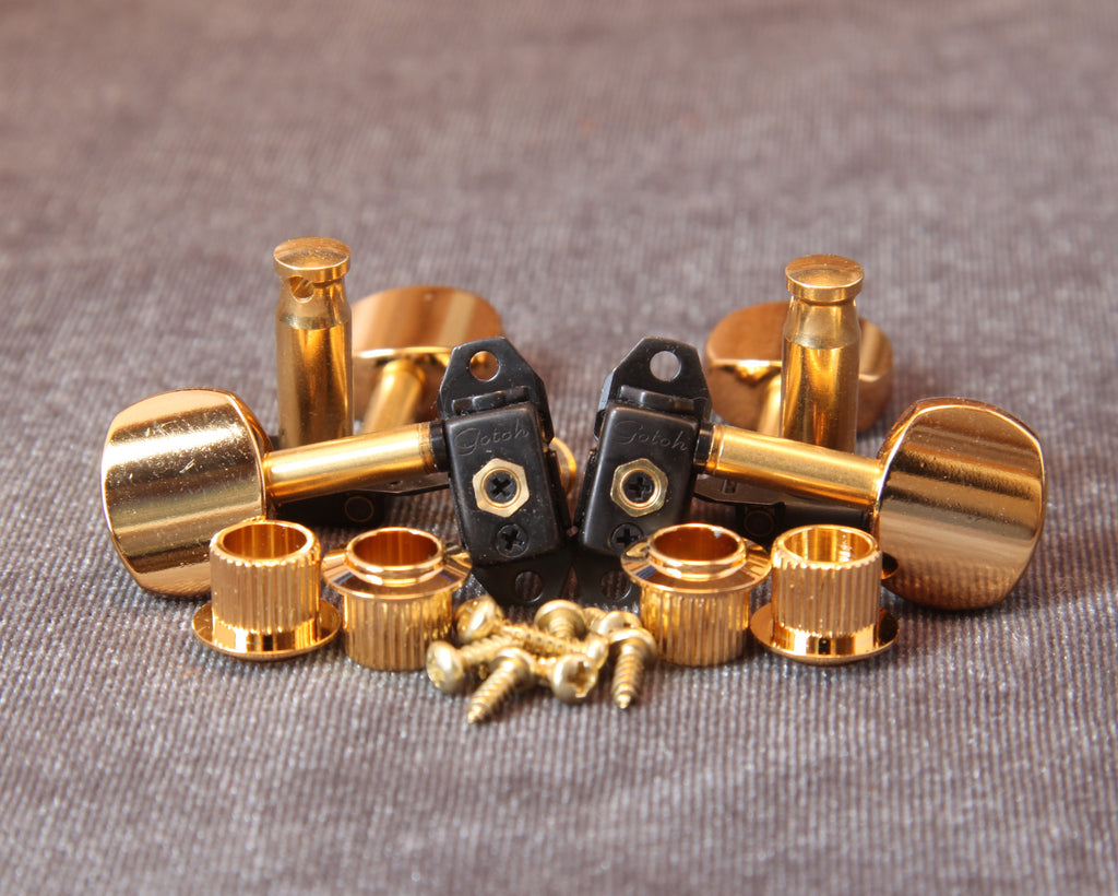 Stealth Tuners with Gold Buttons