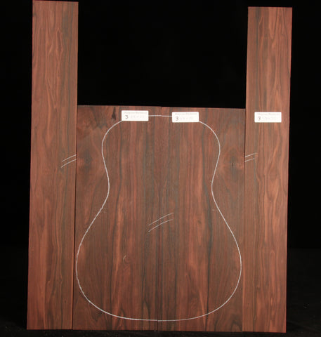 Malaysian Blackwood Guitar Set 03