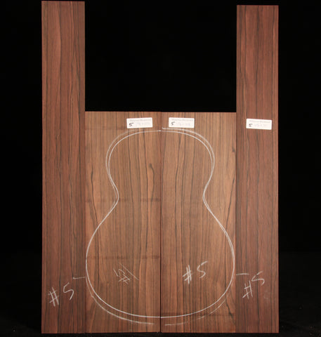 Malaysian Blackwood Guitar Set 05