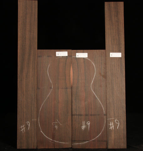 Malaysian Blackwood Guitar Set 09