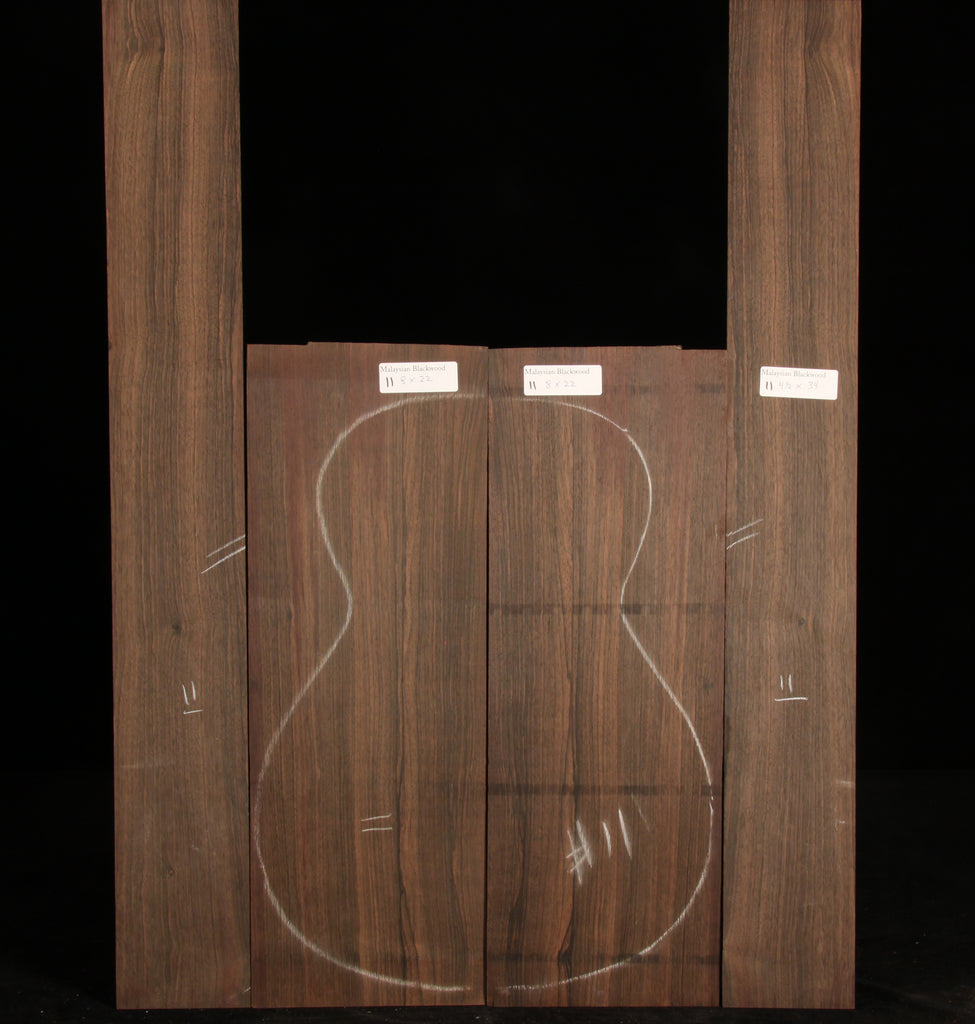 Malaysian Blackwood Guitar Set 11