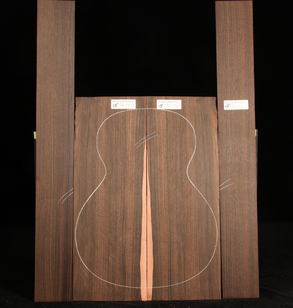 Malaysian Blackwood Guitar Set 15