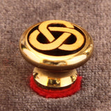 Strap But Gold Tri Ring Lg