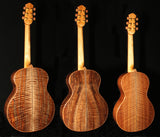 Walnut, Curly Claro set 45