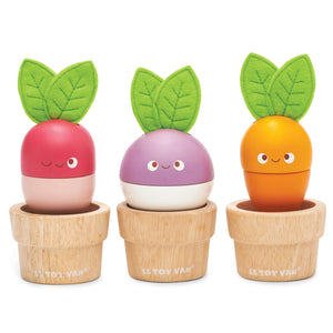 Le Toy Van wooden vegetable set