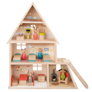 Moulin Roty doll house - interior