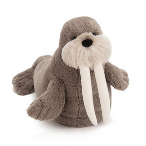 Willie Walrus stuffed toy by Jellycat