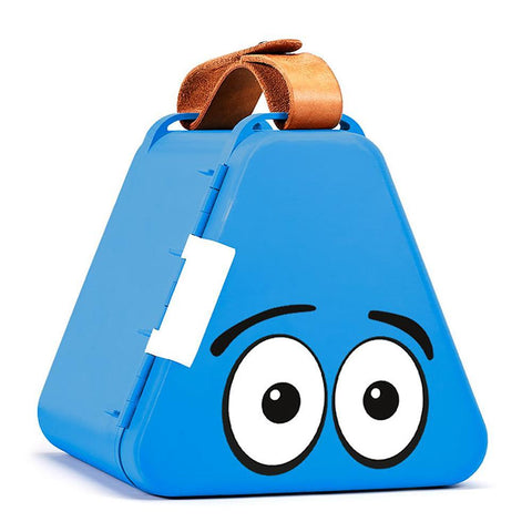Teebee portable toy box in blue